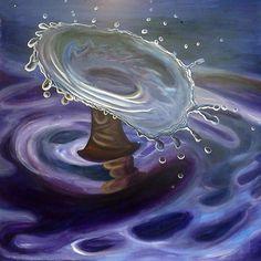 Splash by Inese Auzina Waves, Creative, Outdoor, Art, Outdoors, Art Background, Kunst, Ocean Waves, Outdoor Games