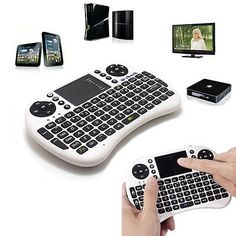 2.4GHz Multi-Media Wireless RC Keyboard Touchpad Handheld Mouse Perfect Clavier - http://electronics.goshoppins.com/keyboards-mice-pointing-devices/2-4ghz-multi-media-wireless-rc-keyboard-touchpad-handheld-mouse-perfect-clavier/