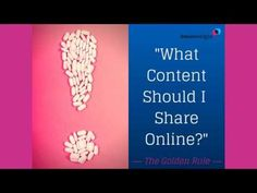 What content should Pharma suppliers and consultants share online? Here's the golden rule for Pharma marketing....