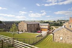 Situated in a prominent Green Belt location, this project originally had planning permission (obtained by others) for the conversion of a series of farm buildings to form three linked barn conversions. Barn Conversions, Planning Permission, New Home Builders, Property Development, New Builds, Buildings, Villa, New Homes