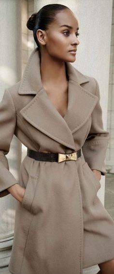 Rock & Belt the coat! #FallTrends 2014