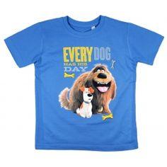 T-shirt dla chłopca - Sekretne Życie Zwierzaków Domowych