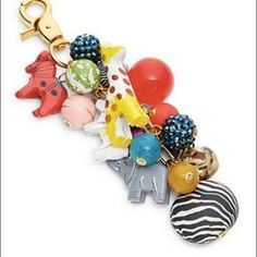 """I just added this to my closet on Poshmark: Lenora Dame Beaded Animal Purse Charm. Price: $35 Size: Length: """"6"""