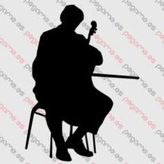 Pegame.es Online Decals Shop  #music #live #play #concert #cello #vinyl #sticker #pegatina #vinilo #stencil #decal