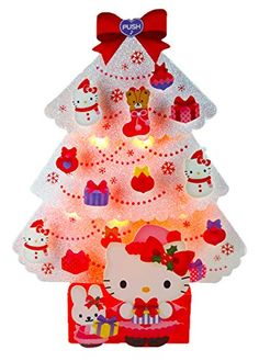 Hello Kitty White Christmas Tree Lights & 20 Melodies Pop Up Greeting Card / Christmas Card Sanrio http://www.amazon.com/dp/B00O4TR4UW/ref=cm_sw_r_pi_dp_Kz1oub1HV70YK