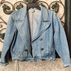 '80s Guess Jean Jacket The perfect denim jacket for spring to fall. Size is labels S but can fit up to a M for a fitted appearance (depending on body type can be snug on the arms). Only listing for now. Georges Marciano for Guess Jackets & Coats Jean Jackets