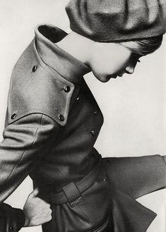 Twiggy's coat, and pose.
