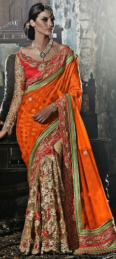 BRIDAL WEAR - The Indian fashion of #saree is the ultimate style. Have a look and choose yours! #IndianWedding