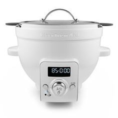 This is amazing!! A mixing bowl that heats. Would be great for tempering chocolate. Good bye double boiler!!