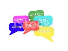 Soru Word ve Konuşma Kabarcık telifsiz stok fotoğraf