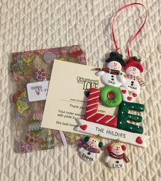 This #christmas get all your personalized #ornaments #decorating needs from Ornaments with Love - Janine's Confessions of A Mommyaholic