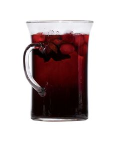 Mulled Wine With Cranberries | Get the recipe: http://www.realsimple.com/food-recipes/browse-all-recipes/mulled-wine-cranberries-00100000070548/index.html