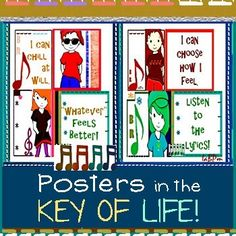 """""""I choose how I feel."""" """"I can chill at will."""" 'Nough said. #whatever feels better. Bullyproof Kid posters based on the song about whatever."""