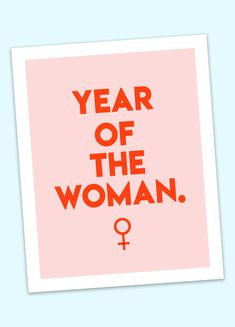 Year of the woman! We made you 5 free printable feminist wall art prints for Women's History Month! Get them here! #Feminism #WallArt