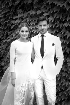 Oliva Palermo married her longtime love German model Johannes Huebl. Wishing them all the best. More on The Wall at http://www.elin-kling.com/the-wall/industry-news-june-30th