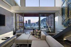 De Waterkant modern duplex apartment in Cape Town by SAOTA