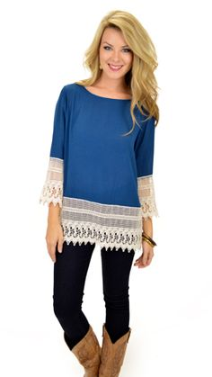 Spoonful of Sugar Top from The Blue Door Boutique