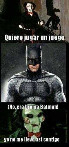 No te metas con batman