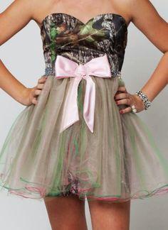Crazy camo dress ;)