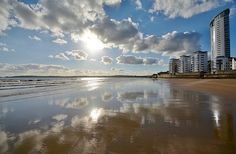 Swansea Bay, South Wales, UK