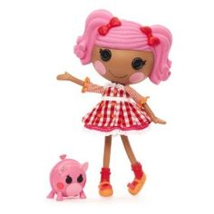 I absolutely LOVE the Lalaloopsy dolls!  I am so happy I have girls, so I can play with them LOL!  This is Pepper Pots and Pans.