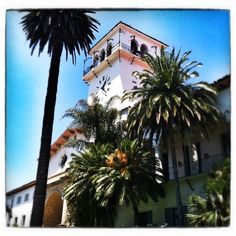 The historic Santa Barbara Courthouse! Explore our other photos on our Instagram: http://instagram.com/visitsantabarbara