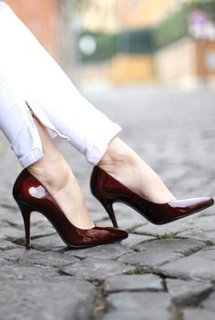 Love these cute pumps      #shoes #heels #fashion