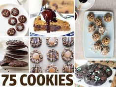 75 of the best Chocolate cookie recipes!