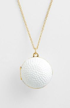 Golf ball locket - great gift idea!