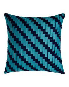 10 Unbelievably Stylish Pillows For Outdoor Living: Elaine Smith American Summer Tile Pillow Cheap Throw Pillows, Outdoor Garden Decor, Patio Furniture Sets, Outdoor Furniture, Geometric Pillow, Pillow Sale, Decorative Cushions, Basket Weaving, American