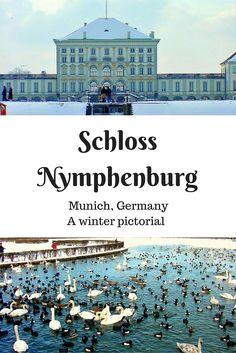 Schloss Nymphenburg - a WINTER pictorial