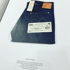 I wanna get LVC 1915... #lvc #rawdenim #jeans #denim
