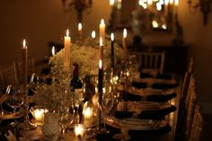 Perfect dinner party decor for a small soiree  #decor #party