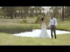 Nic & Amanda // Wedding Highlight Video // The Springs / Peats Ridge - YouTube