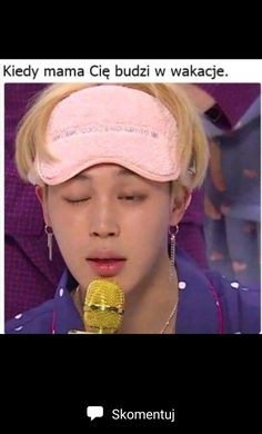 Jimin can even open both eyes that is how tired he is lol! Kdrama Memes, Bts Memes, Asian Meme, Polish Memes, K Meme, Very Funny Memes, Hyouka, Kpop, About Bts