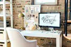 Interior de una casa-oficina en un dúplex de Chicago