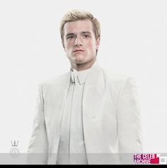 Today, promo kicks off for 'The Hunger Games: Mockingjay – Part I', which will be debuting its trailer later this week during Comic-Con. For a special outing commissioned by President Snow (Donald Sutherland), Peeta Mellark ( Josh Hutcherson) is paraded out in a new living portrait for Capitol Couture. Pictures > http://www.thecelebarchive.net/ca/gallery.asp?folder=/josh%20hutcherson/&c=1