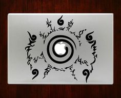 Naruto Seal Symbol emblem Logo Mac Decals Stickers For Macbook 13 Pro Air Decal #RusticDecal