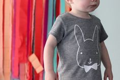Make these DIY Easter tees.