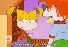 Those little hidden jokes in 90's cartoons.. :D