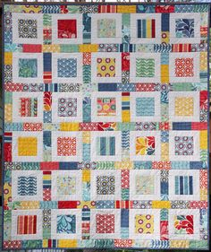 charm quilts | Ahhh...Quilting: Salt Air Charm Quilt