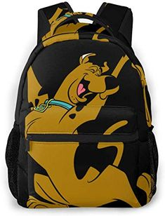 Scooby Doo Floating Head Big Face Sublimated Print Backpack Bag