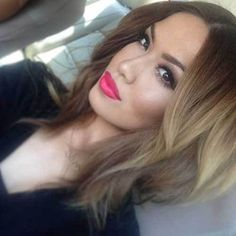 2015 Stylish Blonde Ombre Hairstyle