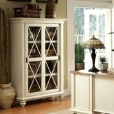Wayfair - Coventry Two Tone Sliding Door Bookcase in Weathered Driftwood and Dover White $1041