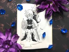 Here you can see Shadow Link from The Legend Of Zelda - Four Swords White Gel Pen, Some Words, Gel Pens, Creepypasta, Box Art, Legend Of Zelda, Swords, Inktober, Fanart