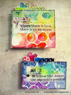 """""""Love is in the air"""" is our heart-happy theme over at the Simon Says Stamp Monday Challenge Blog and we're also featuring the fab products ..."""