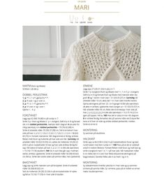 Camilla Pihl Mari-genser Hand Knitted Sweaters, Warm Sweaters, Casual Sweaters, Drops Design, Ravelry, Drops Baby, Handgestrickte Pullover, Jumper, Flannel
