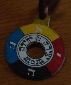 Hermetic Order of the Golden Dawn - pendulum ring of the Theoricus Adeptus Minor
