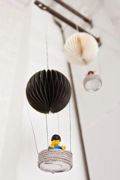 Huvikumpu Living: Kuumailmapallo koristeet, DIY