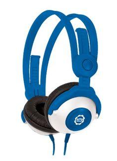 #Kidz Gear CH68KG04 #Casque audio avec Limiteur de son pour Enfant Bleu